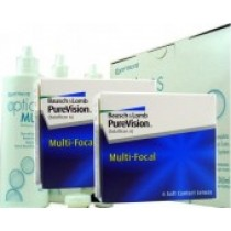Pure Vision Multifocal, 2x 6er Box + Pflegemittel